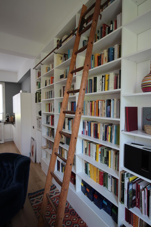Gallery falegnameria fallacara for Scala scorrevole per libreria